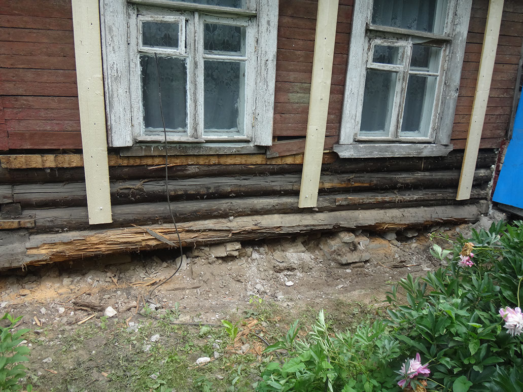 Замена венцов деревянного дома своими руками фото 69